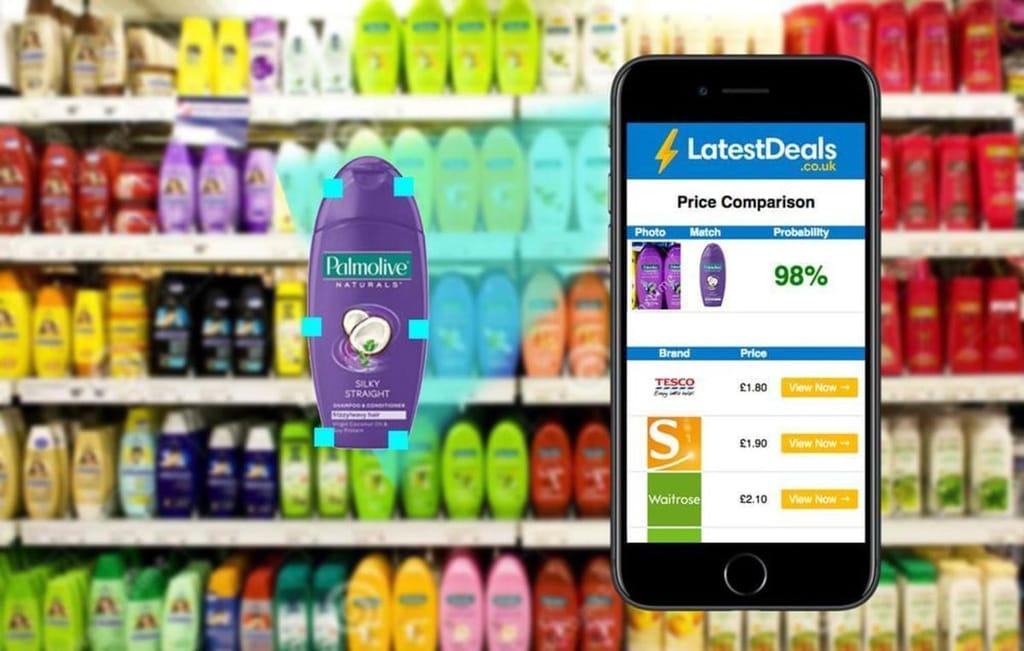 The Latest Deals Price Comparison App Concept